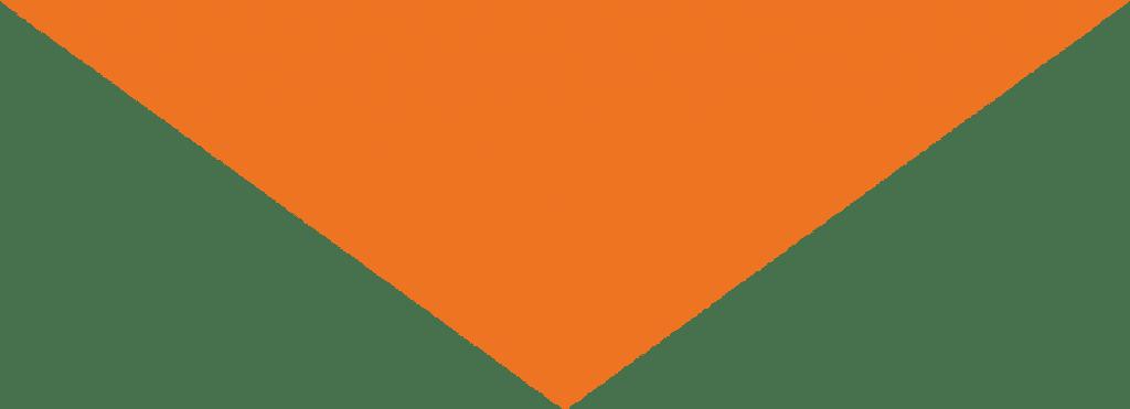 Oranje pijl naar beneden